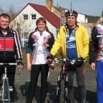 Zahájení cyklistické sezony v Sedlici