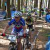 Olympijský závod cross-country žen 1. Julie Bressetová, 14. Kateřina Nash