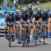 První etapu Vuelty vyhrál Movistar před Rabobankem a Omegou Pharma - Quick-Step