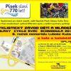 Pozvánka na dětský závod kol a koloběžek GALAXY CYKLOŠVEC ECOMODULA v Písku 19.9.2013