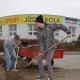Mistr Evropy Jakub Říha staví testovací dráhu u prodejny CYKLOŠVEC v Písku U Hřebčince