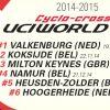 Čtvrtý díl světového poháru cyklokrosařů se pojede 21. prosince v Namuru