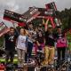 Tomáš Slavík dává podium na Crankworx Les Gets