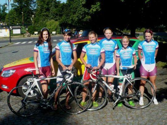 V této podobě Czech Mix Team startoval na Tour de Feminin