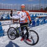Triatlonovou medaili dobyl pro Česko biker Rauchfuss