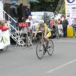 Mistrovství ČR a Slovenska v silniční cyklistice v Púchově – časovka žen 1. Machačová