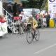 Mistrovství ČR a Slovenska v silniční cyklistice v Púchově - časovka žen 1. Machačová