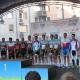 Mistrovství ČR a Slovenska v silniční cyklistice – časovka mužů 1. P. Velits, 2.Bárta