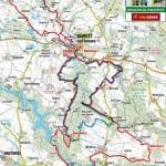 Projížďka trati 6.závodu Galaxy série – AVG NÁMĚŠŤSKÉHO CYKLOMARATONU v Náměšti nad Oslavou