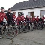 Týmový kemp cyklistů Sparty