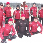 Kemp Sparty na Šumavě začal pěknou lyžařskou tůrou