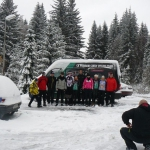 Cyklisté CK Příbram na lyžích