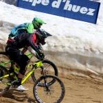 Kamil Tatarkovič na Megavalanche ve francouzském středisku Alpe d´Huez