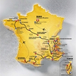 Foto novinek a dárků Tour de France