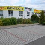 Nová prodejna a sklad CYKLOŠVEC v Písku U Hřebčince