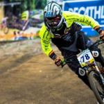 Jakub Říha /GALAXY CYKLOŠVEC/ startuje na mistrovství Evropy ve sjezdu a fourcrossu v Bulharsku