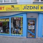 Navštivte prodejnu CYKLOŠVEC Písek, Harantova 1317 po rekonstrukci