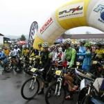 Projížďka trati Galaxy CykloŠvec maratonu Tálín