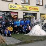 Pozvánka na vánoční, silvestrovské a novoroční cyklistické vyjížďky v Písku a ve Vlašimi