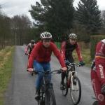 Sparta se připravovala v Brdech na lyžích i na kolech