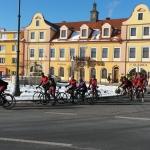 Pestrý zimní kemp cyklistů Sparty v Chodovaru