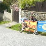 Hampl druhý na Lidicích, vyhrál královskou etapu