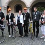Cyklisté jeli z Kostnice do Písku v rámci oslav 600. výročí upálení Mistra Jana Husa