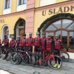 Cyklisté Sparty Praha na soustředění v Chodovaru