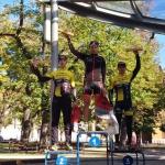 Emil Hekele /GALAXY CYKLOŠVEC STEVENS/ vyhrál 2. závod Slovenského poháru v cyklokrosu v Levoči