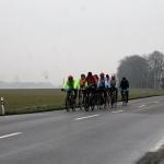 Na Nový rok se tradičně schází i cyklisté na novoroční vyjížďce
