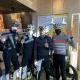 Profesionální biker Kristian Hynek rozváží polévky zaměstnancům odběrových míst v rámci tréninku