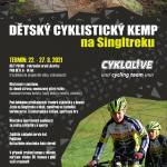 Cyklistický kemp pro děti na Singltreku