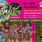 MTB závody v Horní Plané u Lipna 6. 6. 2021
